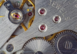 time watch theme machines gears